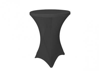 statafelhuren met zwarte rok en zwarte cover